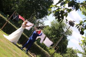 Boer'n wedding bij de Karstenhoeve in Ruinerwold.